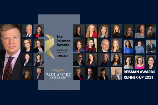 Reisman Awards for Legal Excellence and Innovation, parlatore law group
