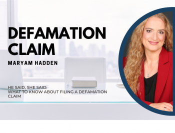 Maryam Hadden, Parlatore Law Group